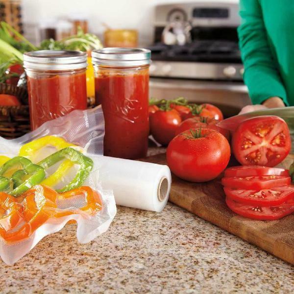 "FoodSaver 8"" & Vacuum Heat-Seal Storage Bag"