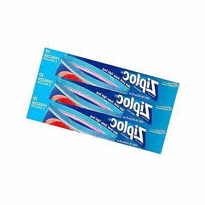 Ziploc 2-Gallon Freezer Bags, 30 Count