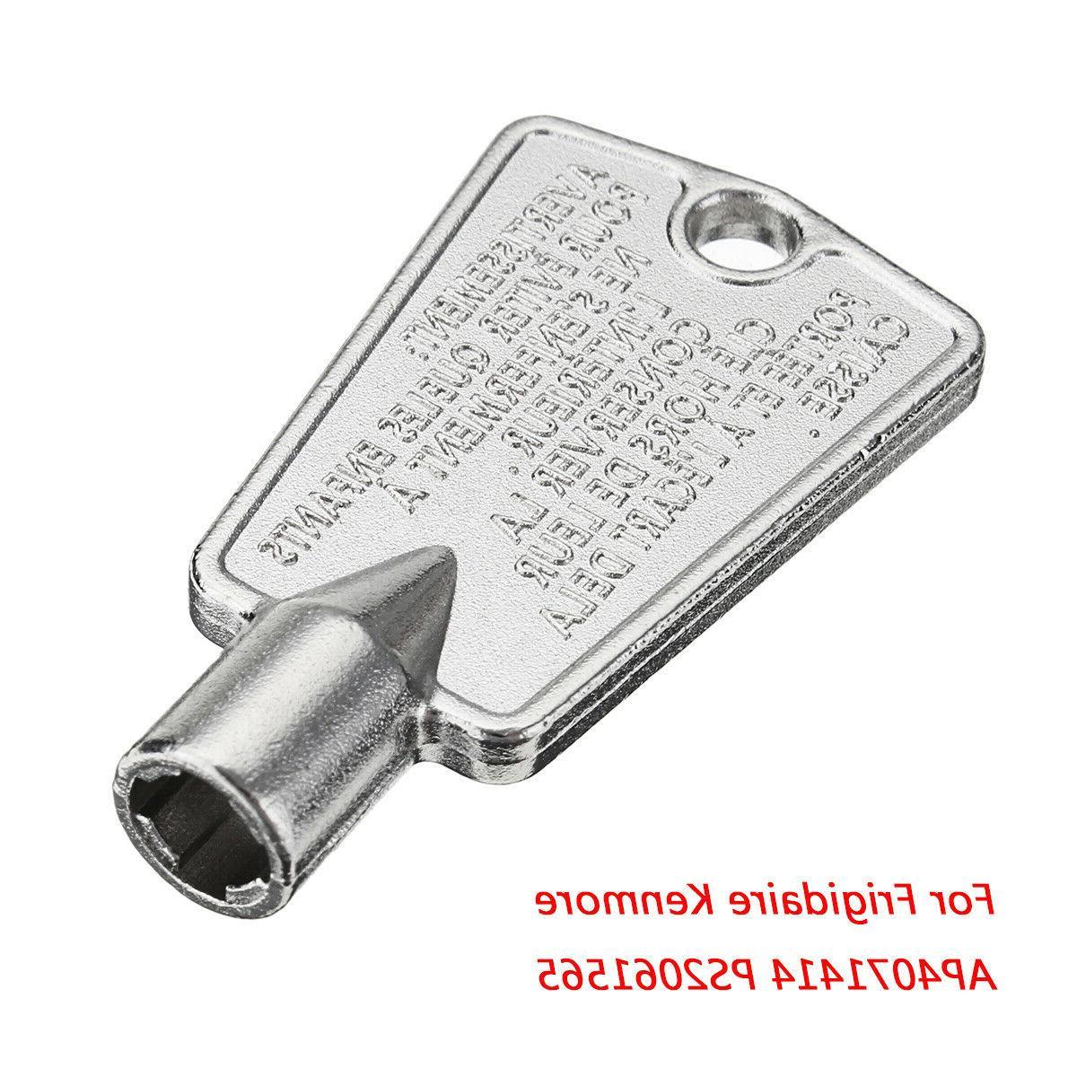 frigidaire kenmore ge freezer door key 216702900