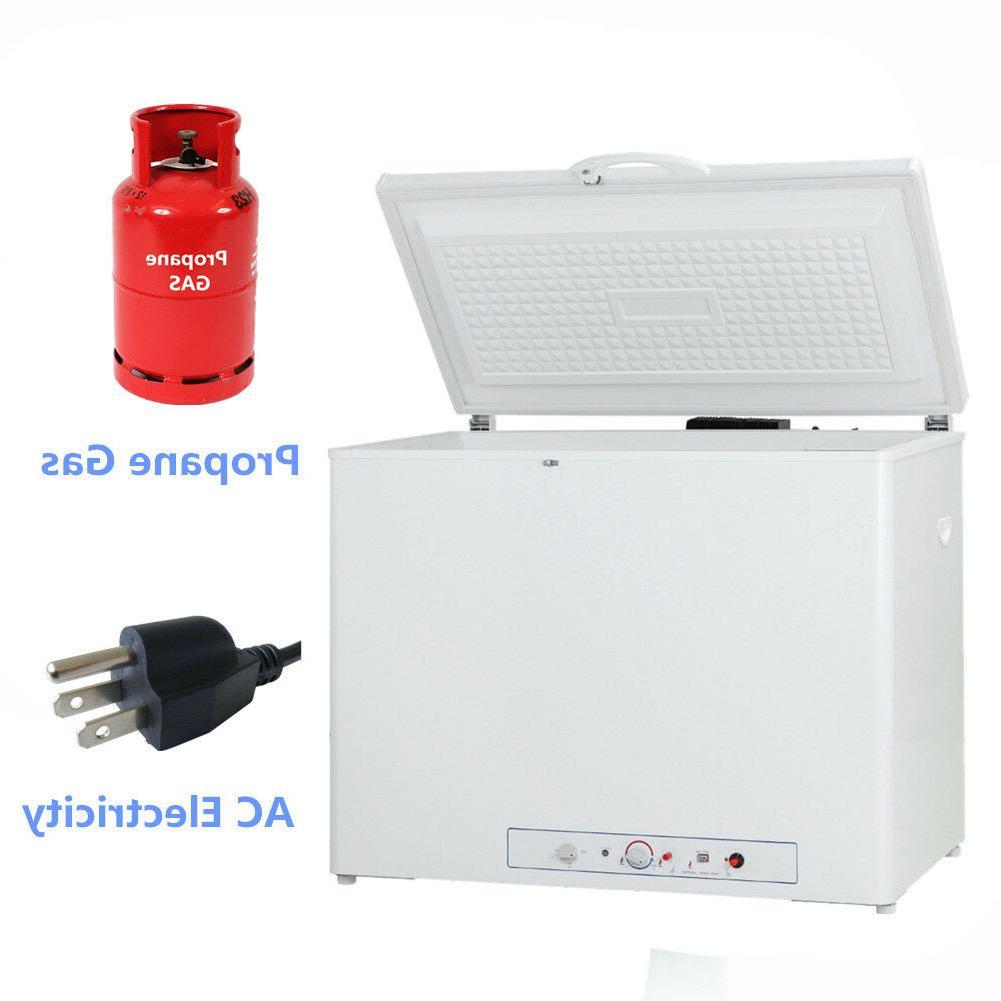SMAD 2.5 Cu Ft Gas Compact Freezer AC DC Propane Gas Hot-dog