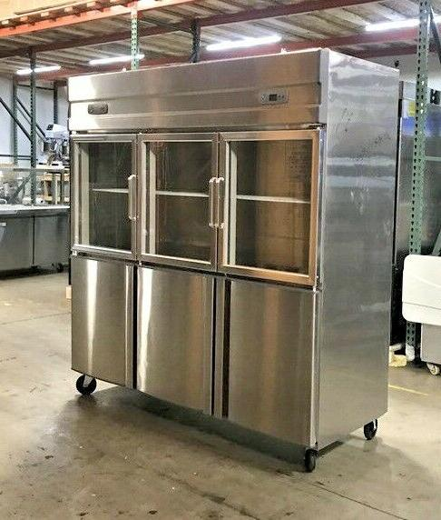 glass door freezer combo RG46 6 COOLER RESTAURANT