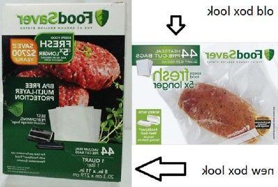 FoodSaver Heat Seal Quart Vacuum Bags count quart