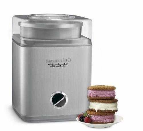 2-Quart Frozen Yogurt, And Ice Cream Maker