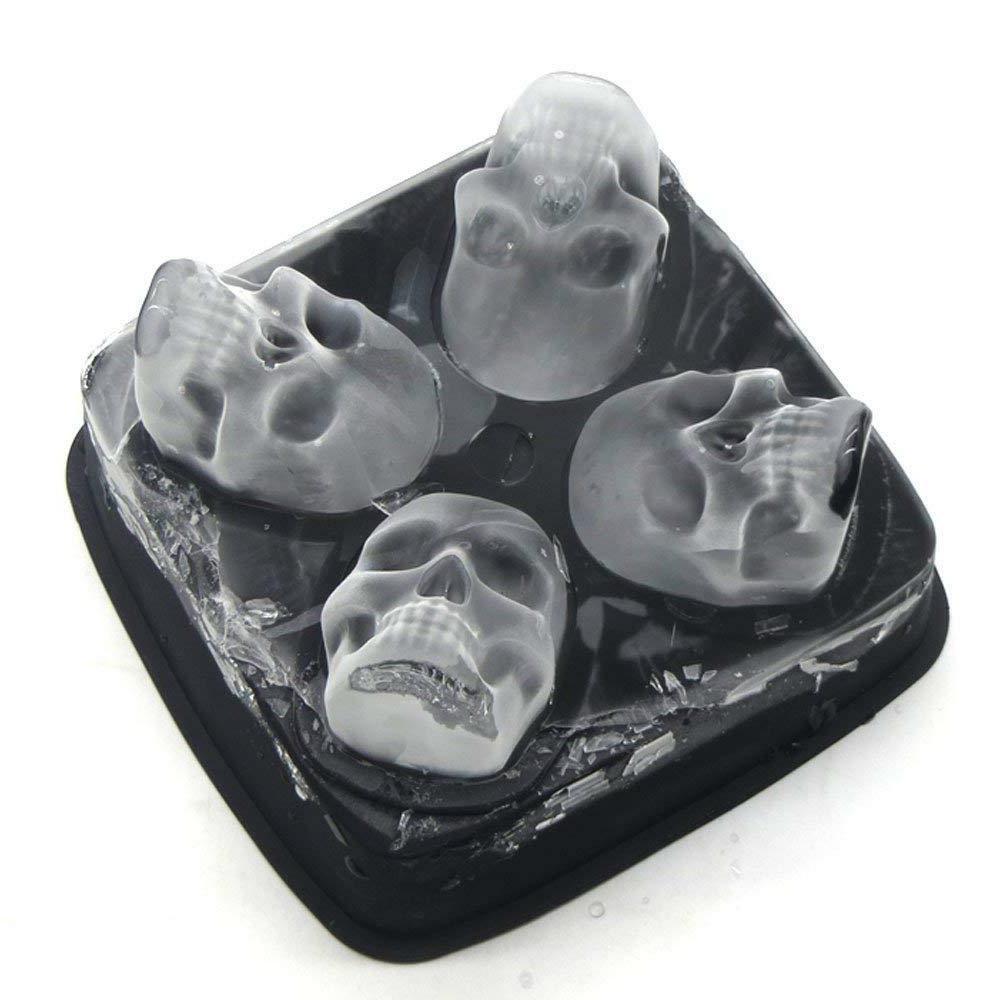 Ice Skull Skulls Freezer Bar Cubes