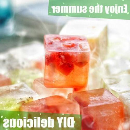 Ice Cube Tray Square Freezer Ice Cube Whiskey W