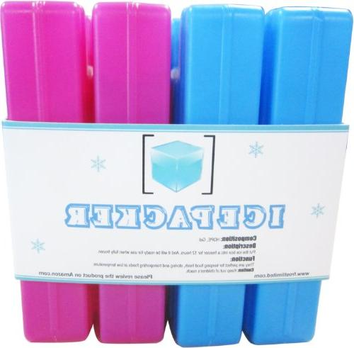 Ice Cool Reusable Latest Colorful Cold - Keep Your and & for Cooler & Cooler Outdoor - & Trips etc.