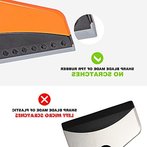 Ice Car, Window Scraper for Small Truck Ice Cleaner Snow for Freezer Heavy-duty and Scraping