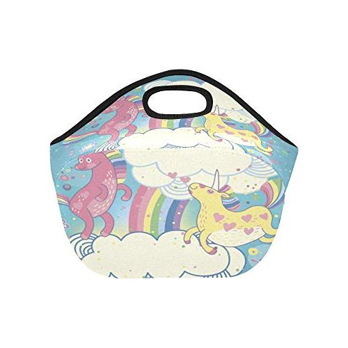 Insulated Lunch Cute The Large Size Reusable Thermal Tote Boxes School
