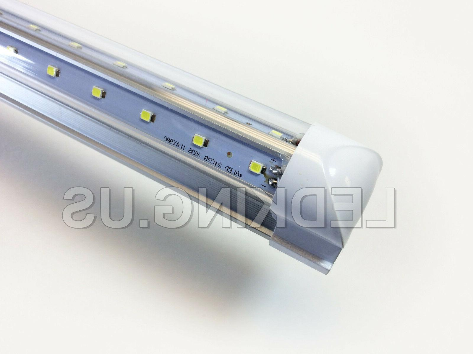 Integrated V-SHAPE 4ft 24W 6500K COOLER/ FREEZER LED 4