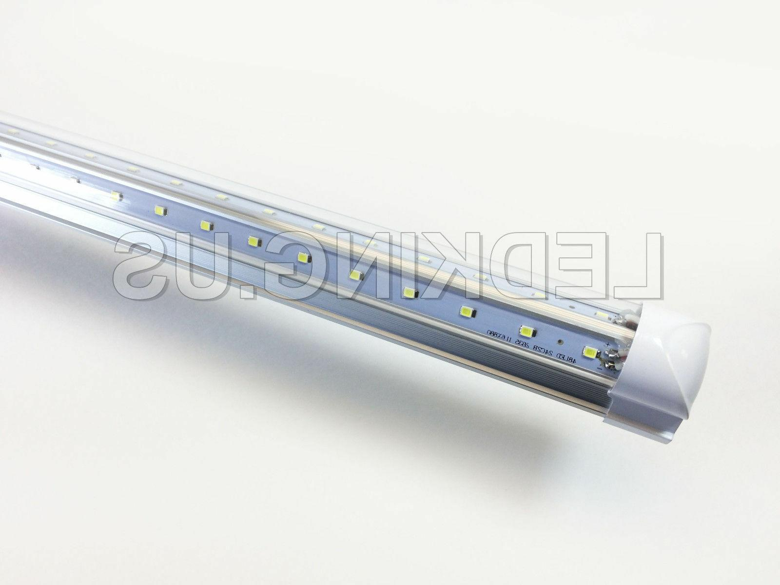 Integrated V-SHAPE 32W 6500K Clear LED 5