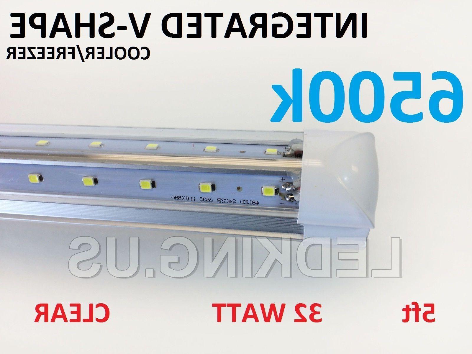integrated v shape 5ft 32w 6500k clear
