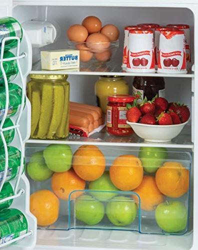 Igloo Double Door Freezer 3.2 Cu.Ft. Red