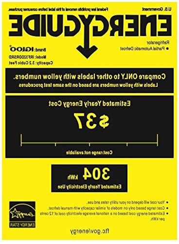 Igloo Classic Compact Double 3.2 Cu.Ft.