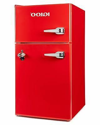Igloo Classic Double Refrigerator Freezer 3.2