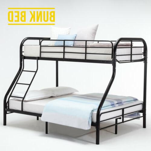 kids metal twin over bunk