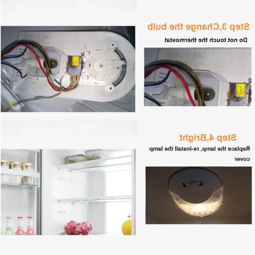 LED Oven Light Fridge 4W 15W E12 E14 High Temperature
