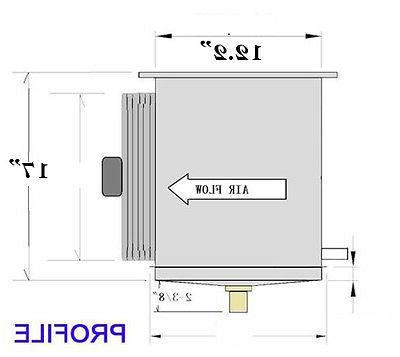 Low Evaporator 29,000 BTU, 5200 CFM /220V