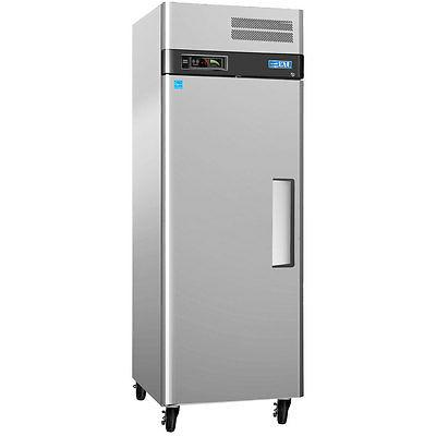 m3f19 1 20cf stainless reach in freezer