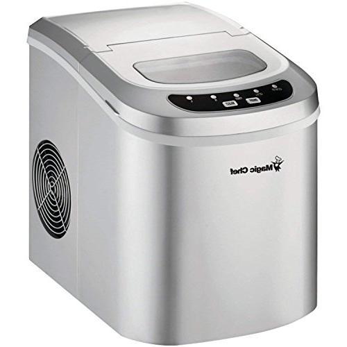 mcim22sv portable mini ice maker