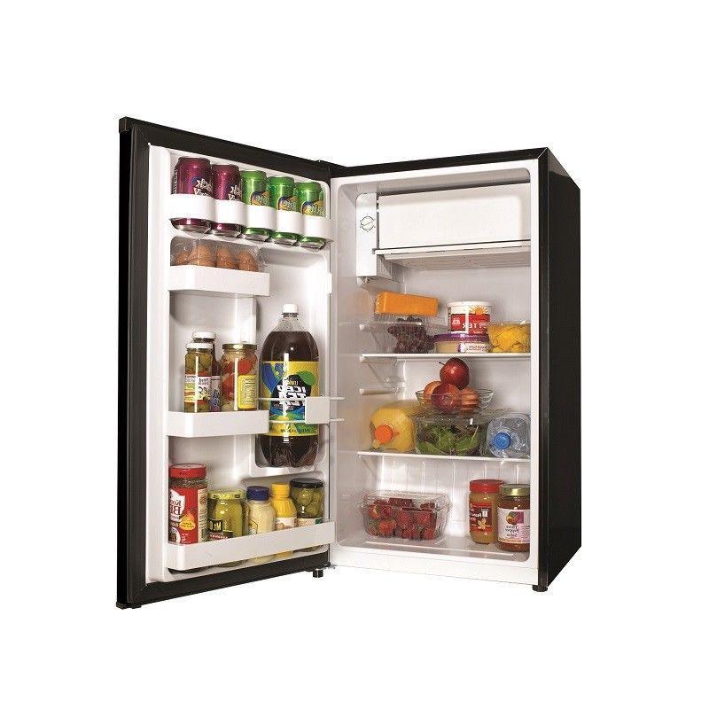 Mini Fridge Refrigerator with Freezer Dorm Room Party Cooler