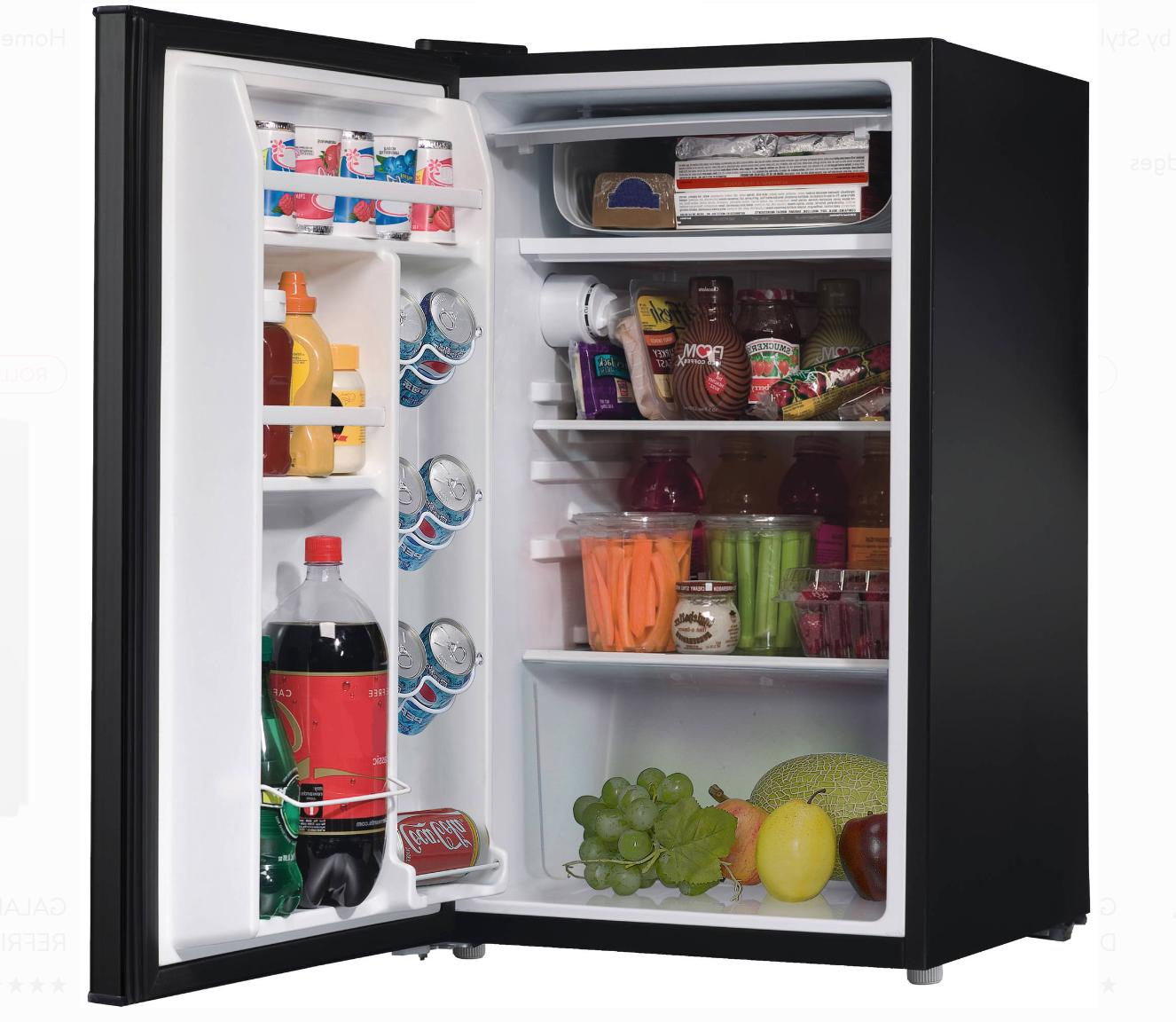 Mini With Freezer RV Basement Small Refrigerator for Office