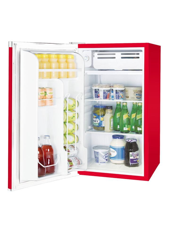 New 3.2 Mini Fridge Red Collage Dorm Freezer