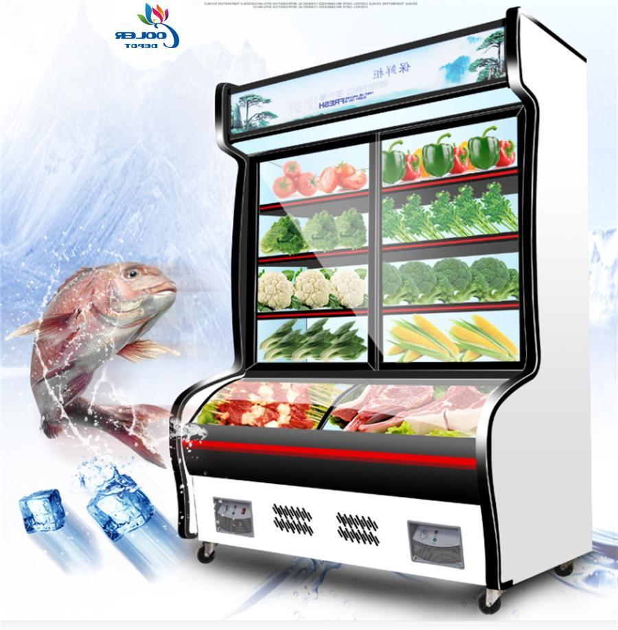 new 63 commercial freezer refrigerator combo merchandiser