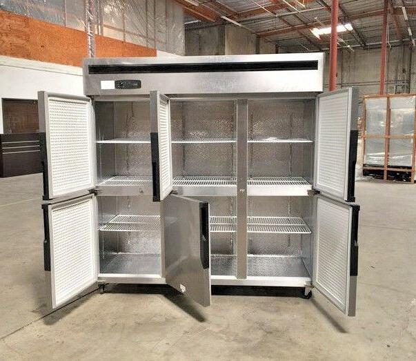 "New 6 Freezer 72"" x 75"" Cooler Model"