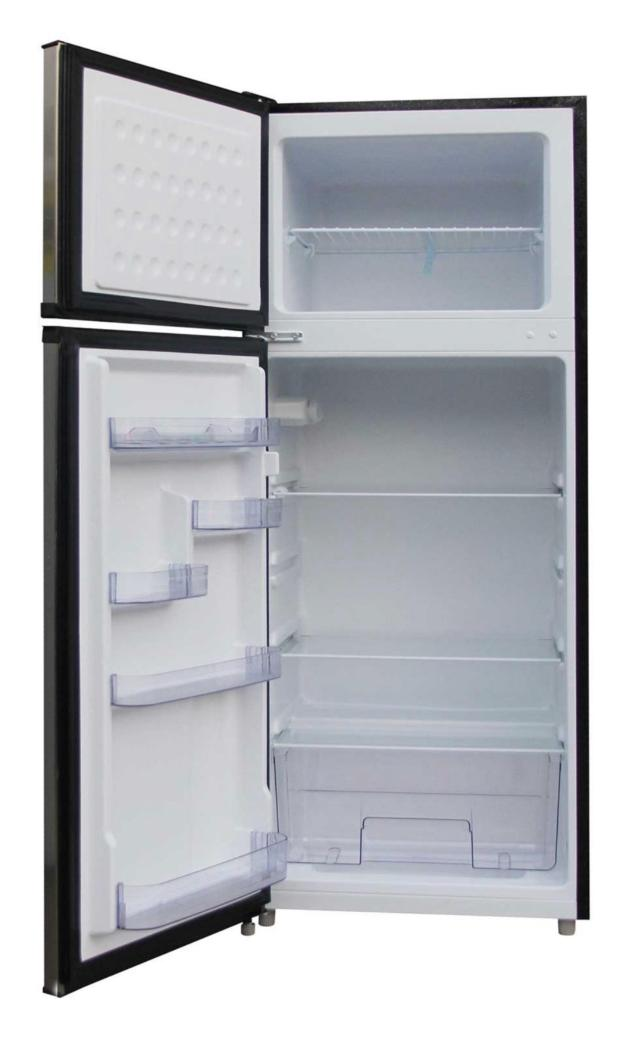 New 7.5 Refrigerator Freezer Small Office Fridge