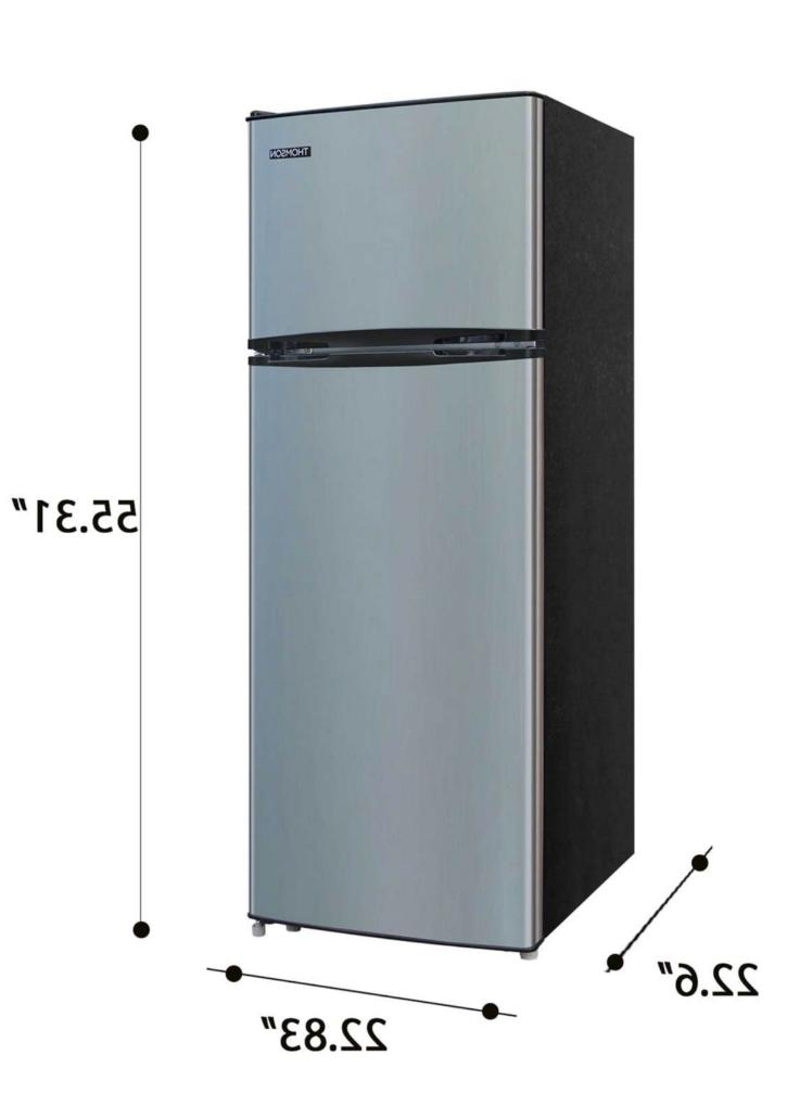 new 7 5 cu ft refrigerator freezer