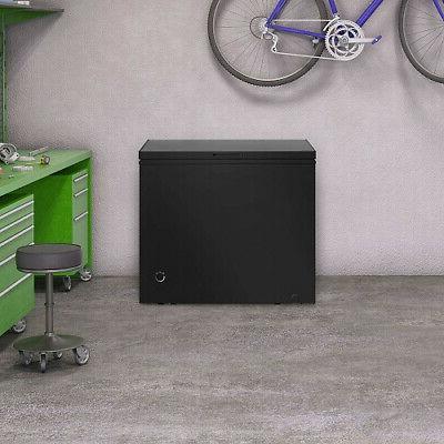 New Chest Freezer 7 Cu Ft Compact Dorm Apartment Storage Black