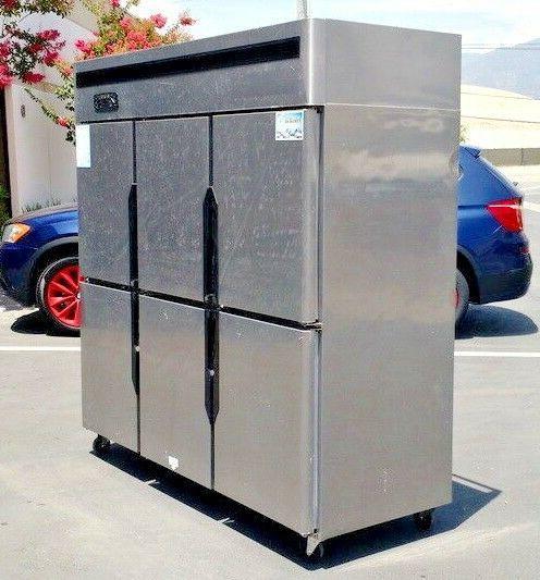 NEW Door Refrigerator Freezer Restaurant Kitchen Model
