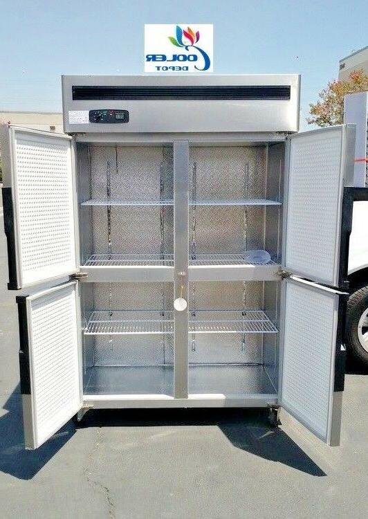 "NEW Door Commercial Freezer 48"" x x Reach 110V"
