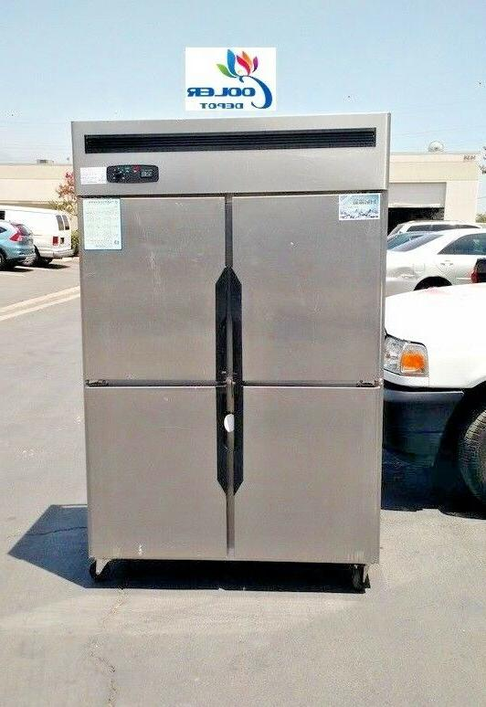 new four door commercial freezer 48 x