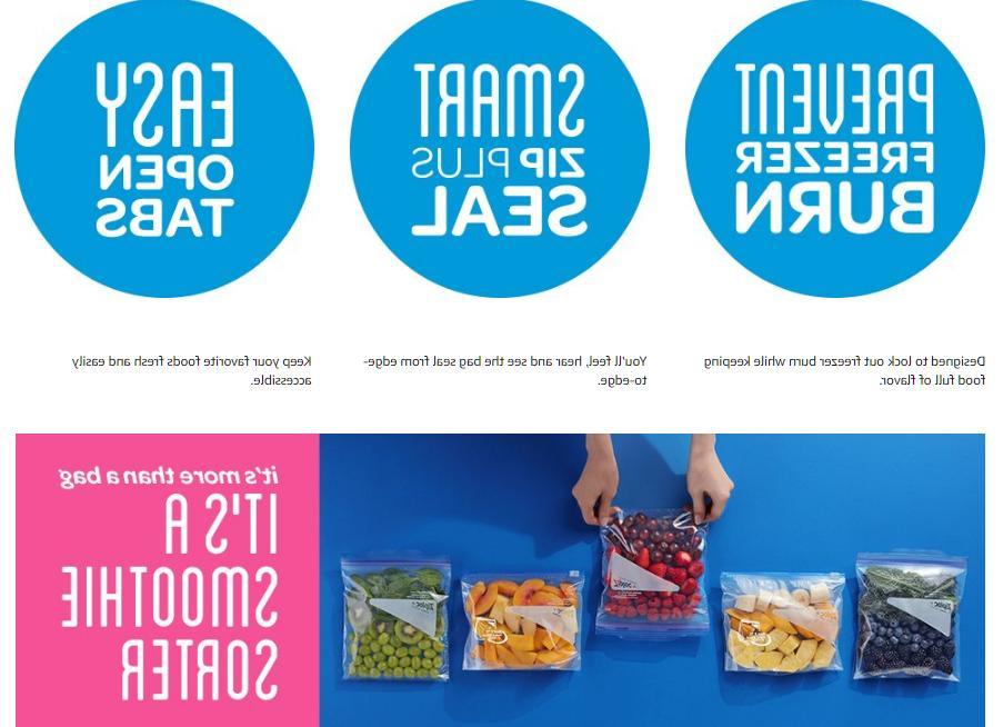New Bags, 28 Plastic Slider Food Storage