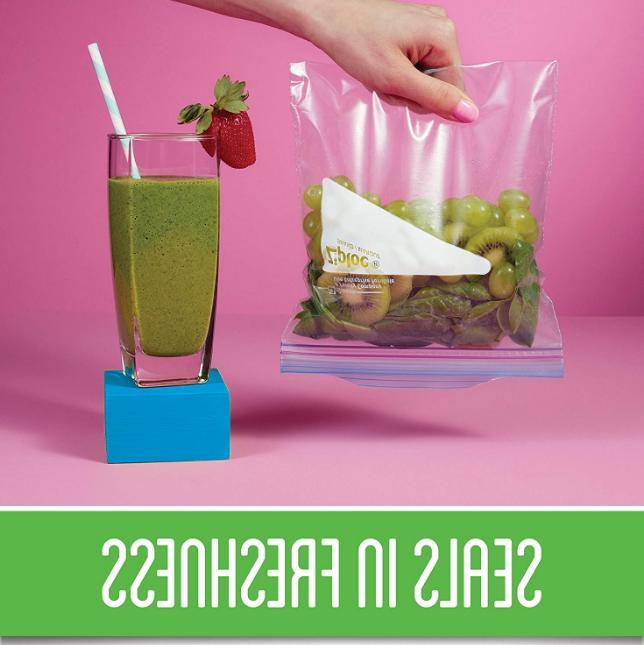 New Freezer Bags, 28 ct, Zip Plastic Storage