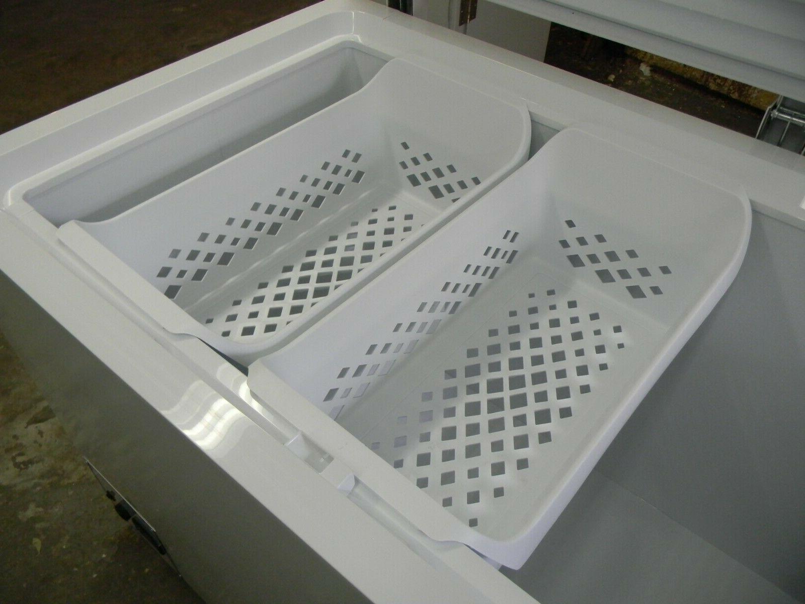 new frigidaire 24 1 2 freezer storage