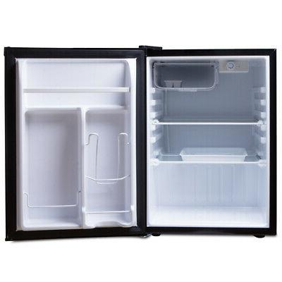 NEW Mini Refrigerator Freezer 2.6 Black Compact Small