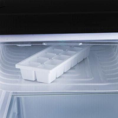 NEW Refrigerator Freezer 2.6 Ft Black Small