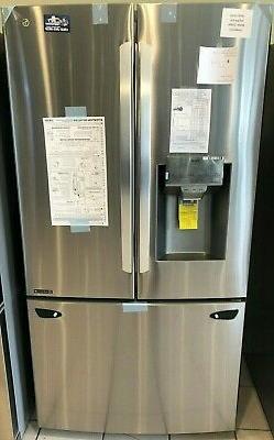 New Open Box LG 23.5 cu. ft. Smart French Door Refrigerator,