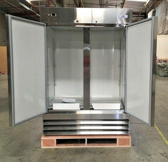NEW Two FreezerCommercial Reach Steel Freezer