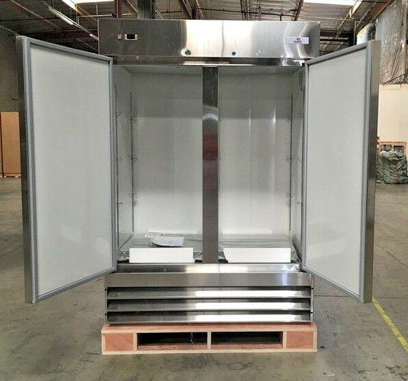NSF Two KF-49B Commercial Refrigerator RESTAURANT