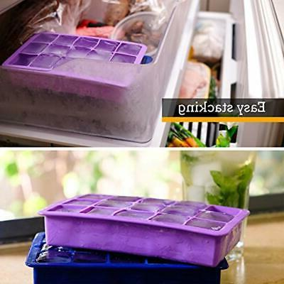 Perfect Molds Silicone Tray, Of 2, FREEZERS, No Odor