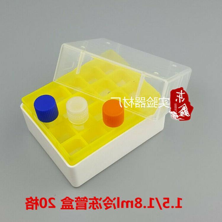 Plastic Box Place 1.8/2.0ml Cryotube Cryogenic Test