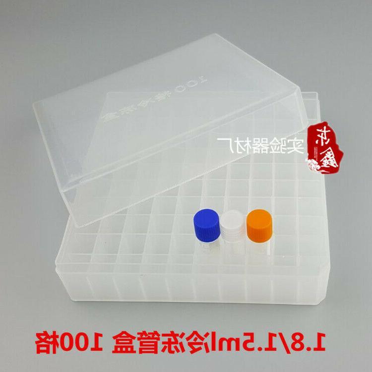 Plastic Freezer Box Place Cryotube Cryogenic Tube