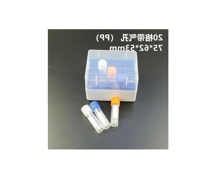 Plastic Box Place 1.8/2.0ml Cryogenic Test Tube