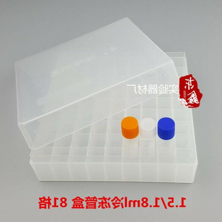 Plastic Freezer Box Place Cryogenic Tube