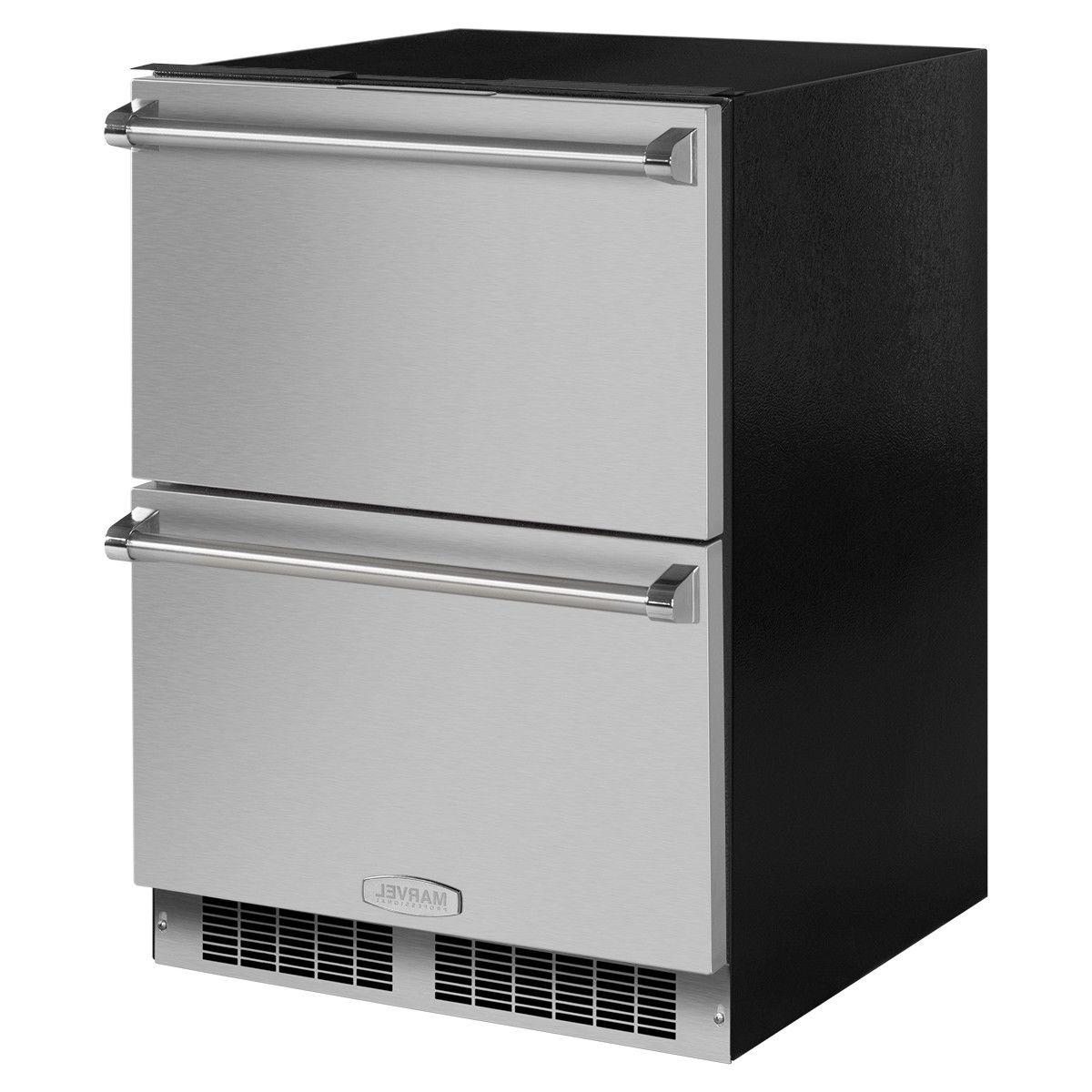 Marvel Professional SS Refrigerator Drawers MP24RDS2NS