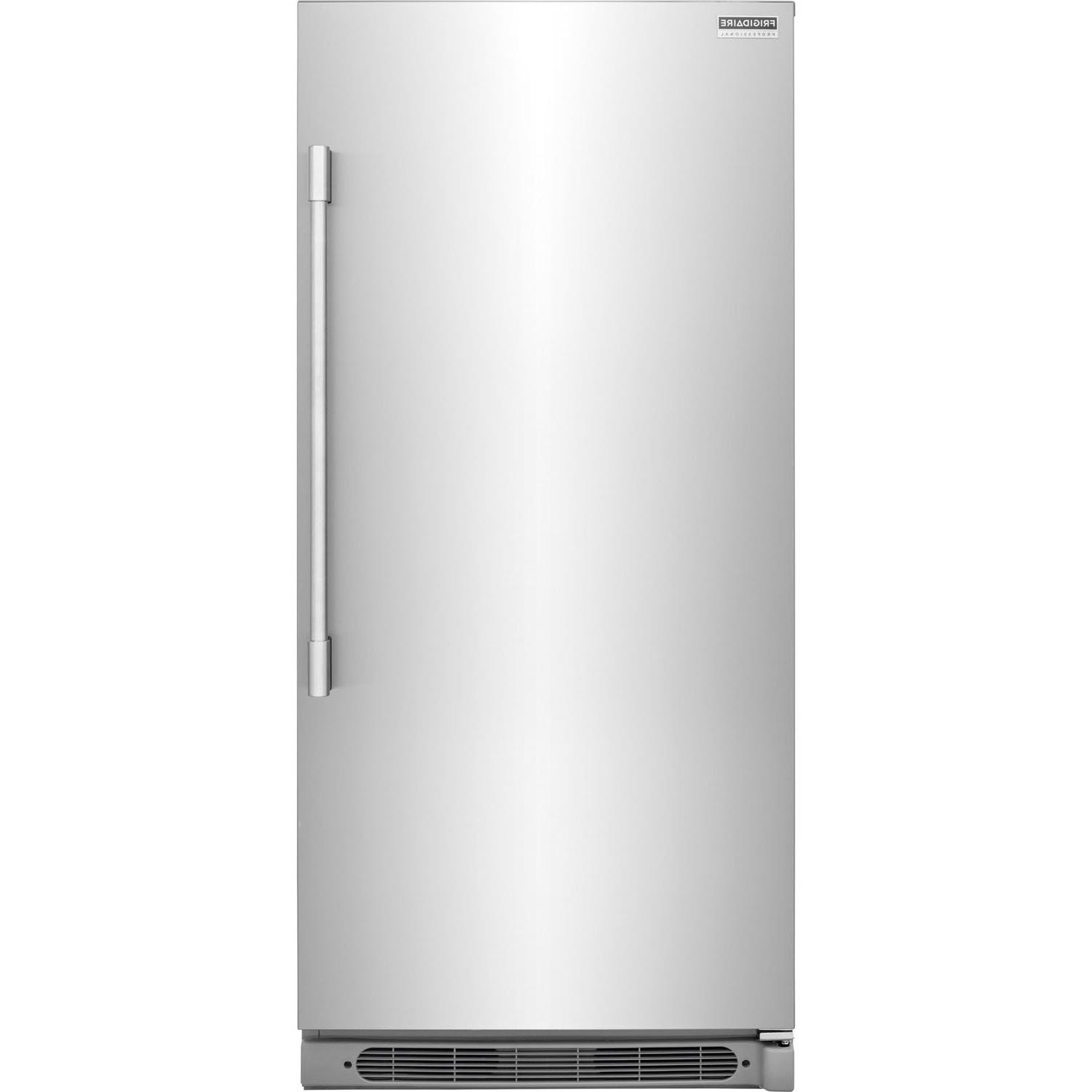 professional stainless steel upright all freezer fpfu19f8rf