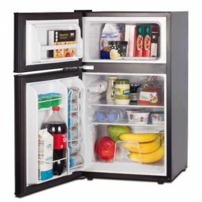 RCA Ft with Freezer, Black, Refrigerador
